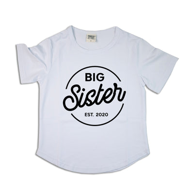Big Sister | Circle Design | Scoop Tee
