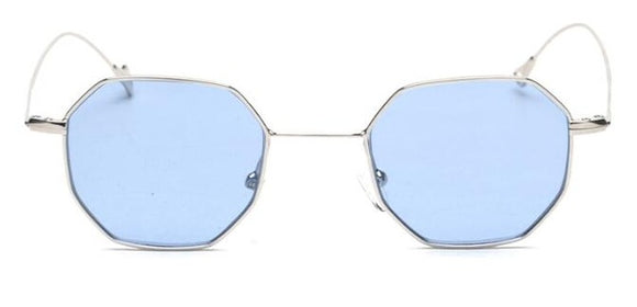 Peekaboo Polygon Frame Sunglasses