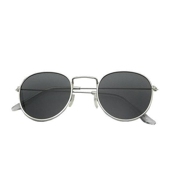 Retro Round Frame Sunglasses