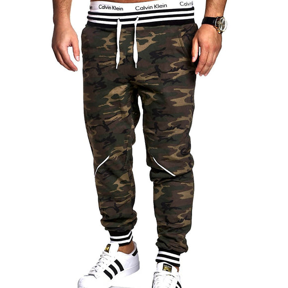 Mens Multi Color And Camo Joggers