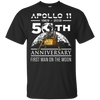 Image of 135,50th Anniversary Apollo 11 1969 with Lunar Lander Gildan Ultra Cotton T-Shirt