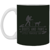 Image of 10,Boots and Paws Little Traverse Bay White Mug