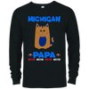 Image of 86,Michigan Papa T-shirt Mug Pillow Gift Delta French Terry Crew