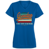 Image of 54,Grandpa the man the myth the bad influence retro 1790 Augusta Ladies' Wicking T-Shirt