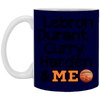 Image of Best Basketball Players White Mug