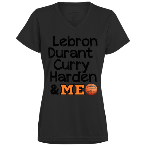 Best Basketball Players 1790 Augusta Ladies' Wicking T-Shirt