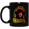 Image of Waylon Jennings - BM11OZ 11 oz. Black Mug