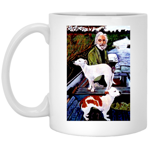 Goodfellas Movie Dog Painting - XP8434 11 oz. White Mug