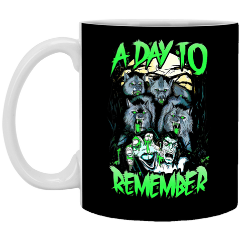 A Day To Remember Halloween t-shirt, Art T-shirt White Mug