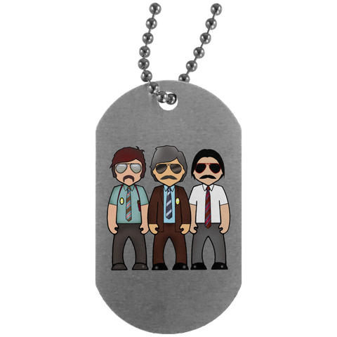 Beastie Boys - UN4004 Silver Dog Tag
