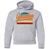 Image of 54,Grandpa the man the myth the bad influence retro Gildan Youth Pullover Hoodie