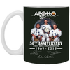 Image of Apollo - First Man On The Moon White Mug