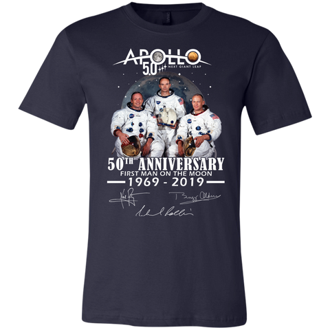 Apollo - First Man On The Moon Bella + Canvas Youth Jersey Short Sleeve T-Shirt