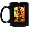 Image of Enter The Dragon - BM11OZ 11 oz. Black Mug