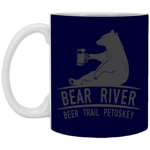 12,Bear River Beer Trail Petoskey White Mug