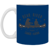 Image of 11,Bear River Petoskey Canoe _ Kayak White Mug