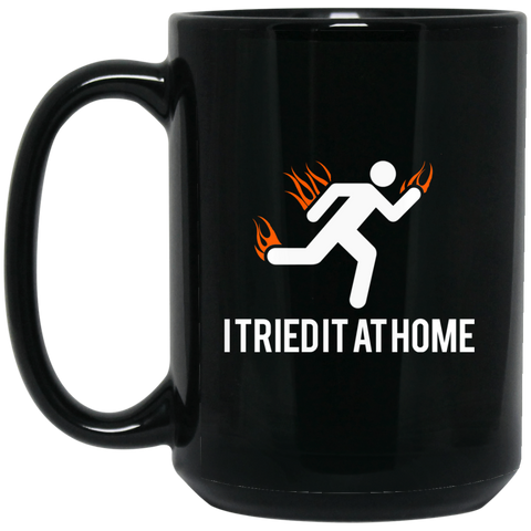 Tried It At Home - BM15OZ 15 oz. Black Mug