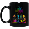 Image of Coldplay Brand Music   - Black Mug - Lupinshop