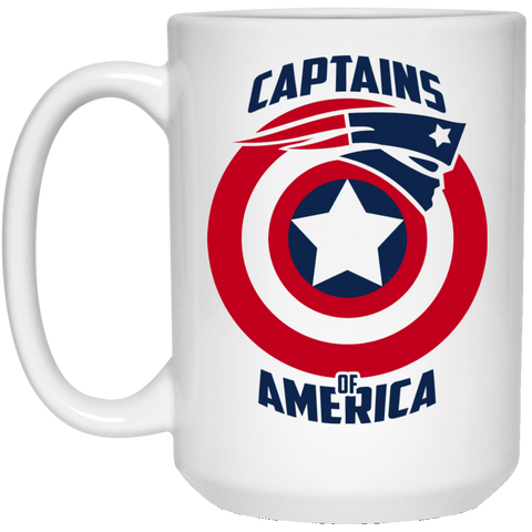 Captain Brady - 21504 15 oz. White Mug