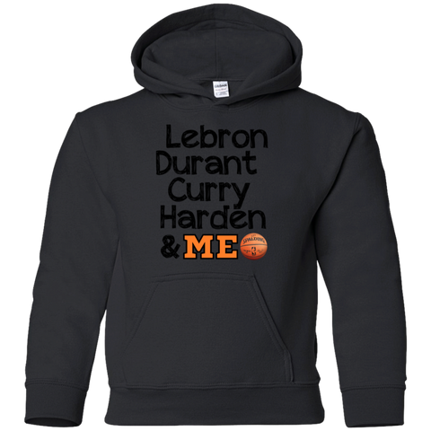 Best Basketball Players Gildan Youth Pullover Hoodie