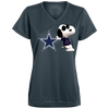 Image of Dallas Cowboys - NFL - 1790 Augusta Ladies' Wicking T-Shirt