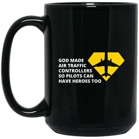 Air Trafic - BM15OZ 15 oz. Black Mug
