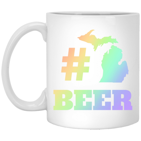 32,Michigan Beer Hashtag Pound Craft Ipa Lover Home White Mug