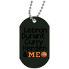Image of Best Basketball Players White Dog Tag