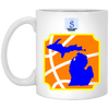 Image of 30,s21michigan White Mug