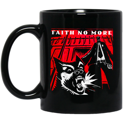 Faith No More 2 Brand Music   - Black Mug - Lupinshop