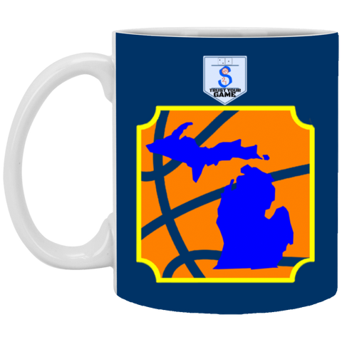 30,s21michigan White Mug