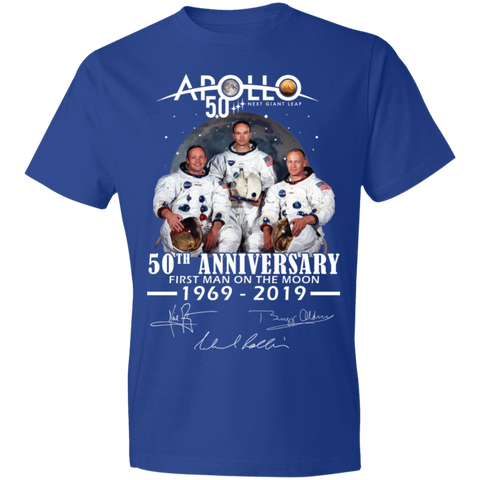 Apollo - First Man On The Moon Anvil Lightweight T-Shirt 4.5 oz