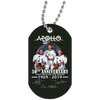Image of Apollo - First Man On The Moon White Dog Tag