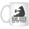 Image of 12,Bear River Beer Trail Petoskey White Mug