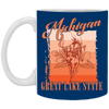 Image of 16,Michigan america state gift White Mug