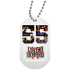 Image of 1,55 Years Of Lynyrd Skynyrd 1964 2019 Thank You White Dog Tag