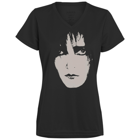 SIOUXSIE AND THE BANSHEES SIOUX FACE - 1790 Augusta Ladies' Wicking T-Shirt