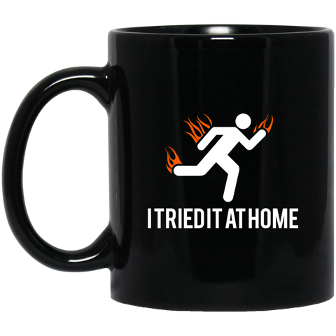 Tried It At Home - BM11OZ 11 oz. Black Mug