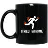 Image of Tried It At Home - BM11OZ 11 oz. Black Mug