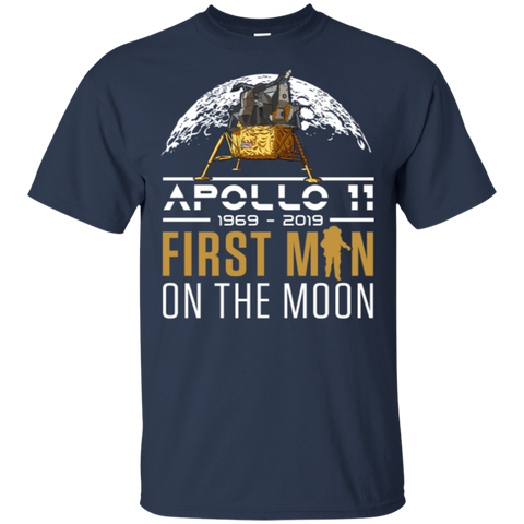 153,50th Anniversary Apollo 11 First Man on the Moon Gildan Ultra Cotton T-Shirt
