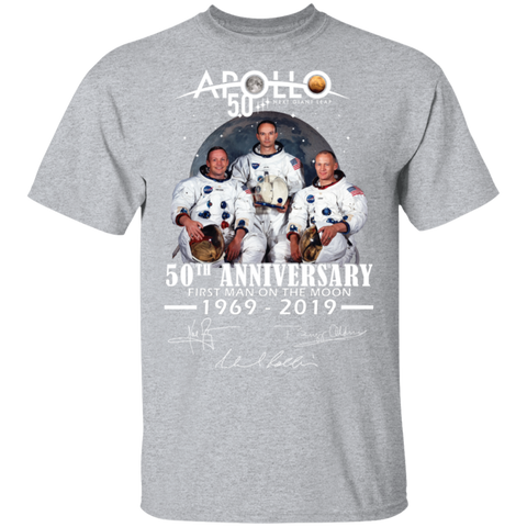 Apollo - First Man On The Moon Gildan Ultra Cotton T-Shirt