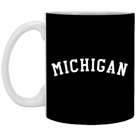 33,MICHIGAN -Country Pride White Mug