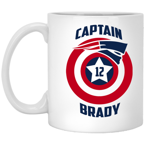 Captain Brady - XP8434 11 oz. White Mug