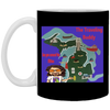 Image of 6,T shirt 2 White Mug