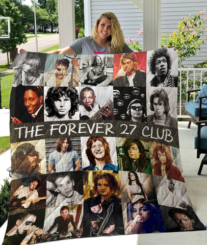 The 27 Club Quilt Blanket