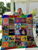 Image of The B-52's Singles Quilt Blanket