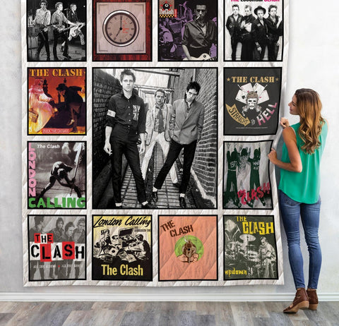 The Clash Quilt Blanket 1
