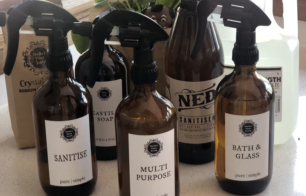 DIY Cleaning Sprays – so simple even your Kids can do it