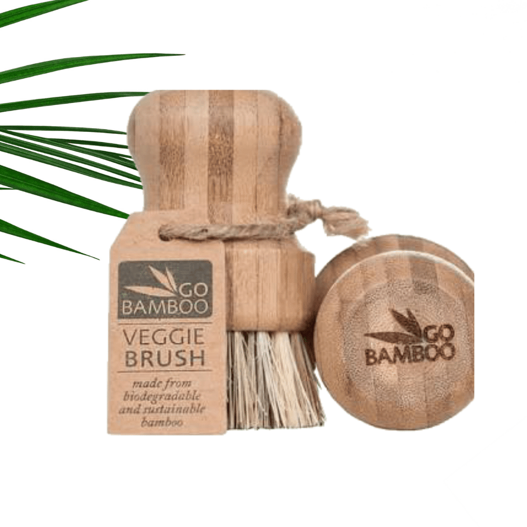 Go Bamboo Vegie Brush