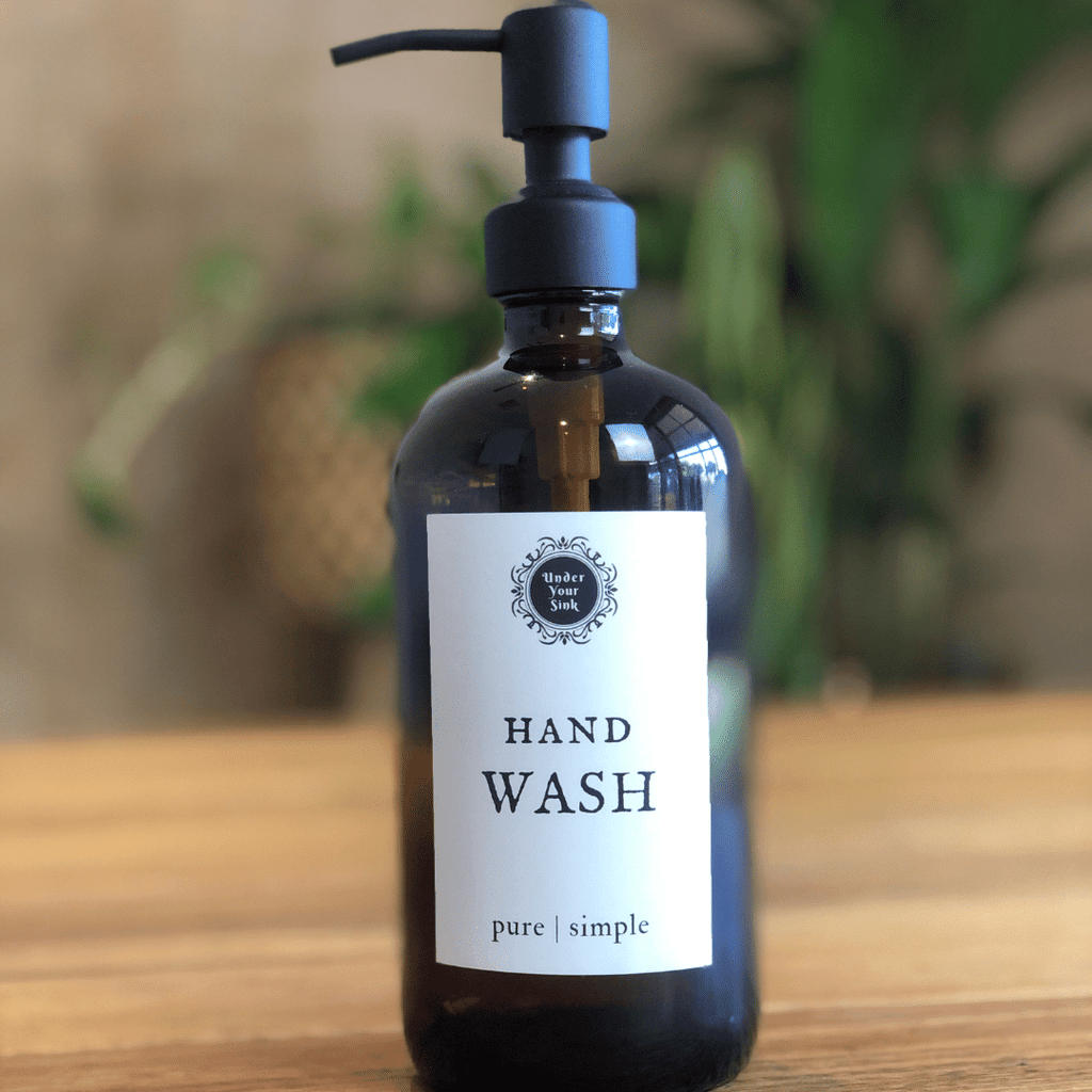 Hand Wash pump bottle